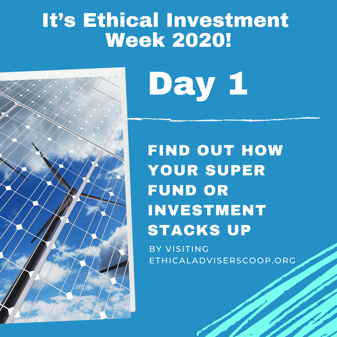 Ethical Investment Week 2020: 7-Day Challenge