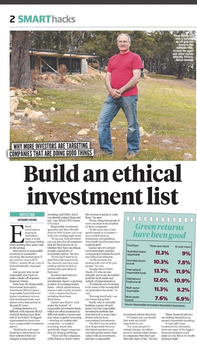 Building an Ethical Investment list